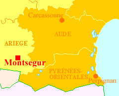 location of Montsegur