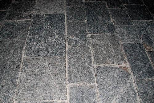 Castle Stone Floor : Ch teau de villerouge termenes partially restored